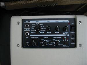 Vox Mini3 Control Panel