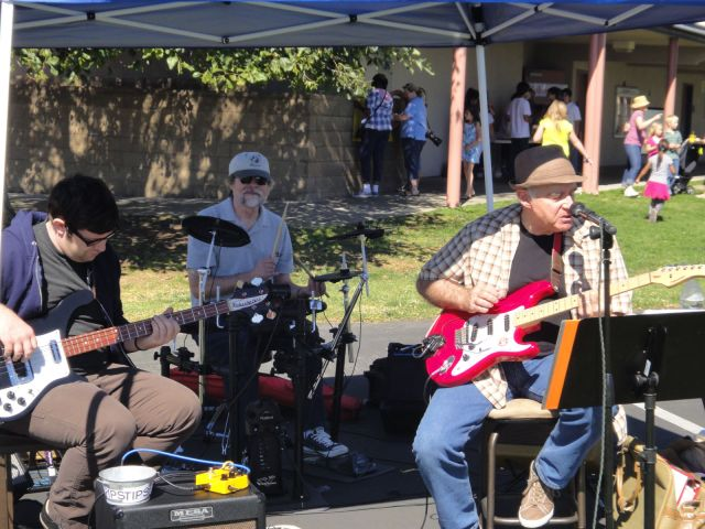 Craig Saxon Band at Portola Elementary School